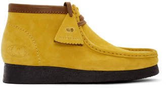 Clarks Yellow Wu Wear Edition Wallabee Boots