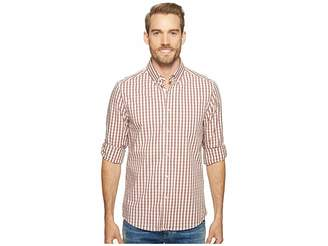 Kenneth Cole Sportswear Long Sleeve Iridescent Check Shirt Men's Clothing