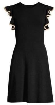 Shoshanna Saya Knit Fit-&-Flare Dress