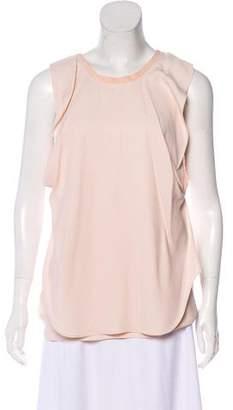 Chloé Silk-Blend Sleeveless Top