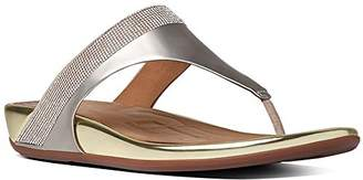 FitFlop Women's Banda Micro Crystal Toe Post Flip Flop $94.34 thestylecure.com
