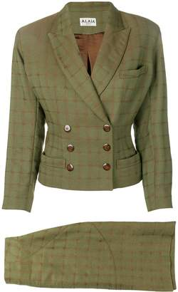 Alaia Pre-Owned skirt and jacket suit