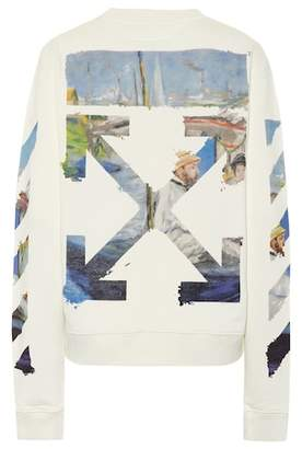 Off-White Diagonal Arrows cotton sweatshirt