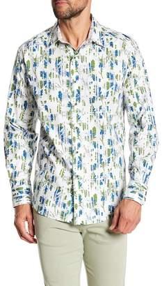 Robert Graham Doud Classic Fit Print Woven Shirt