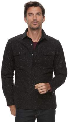 Marc Anthony Men's Slim-Fit Wool-Blend Quilted Shirt Jacket