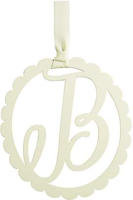 Mud Pie Scalloped Wall Initial Hanger