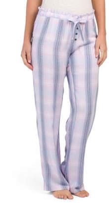 Paper Bag Waist Lounge Pants