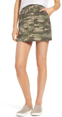 Women's Sanctuary Safari Camo Skirt $89 thestylecure.com