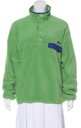 Patagonia Long Sleeve Fleece Sweatshirt