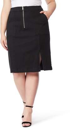 82499803a8 Wilson Rebel X Angels Zip Front Denim Skirt