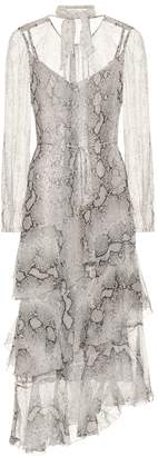 Zimmermann Corsage silk midi dress