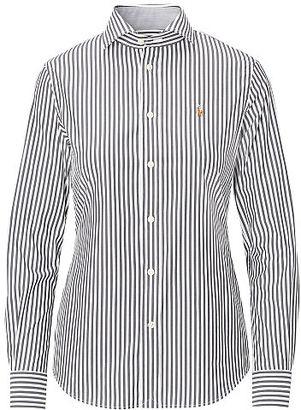 Polo Ralph Lauren Striped Poplin Shirt $98.50 thestylecure.com