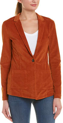 Three Dots Stretch Corduroy Blazer
