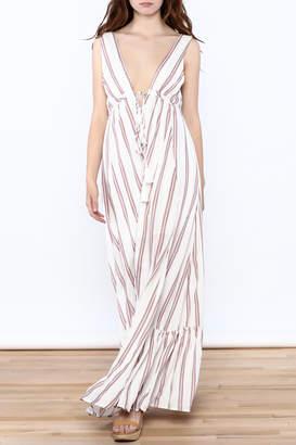 Hommage Flowy Roxy Maxi Dress