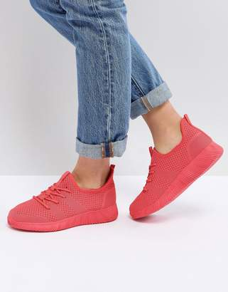 Asos DESIGN DEDICATE Knitted Sneakers