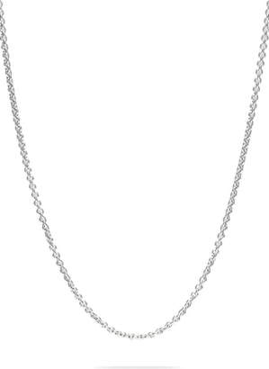 Tom Wood Rolo Silver Chain Necklace