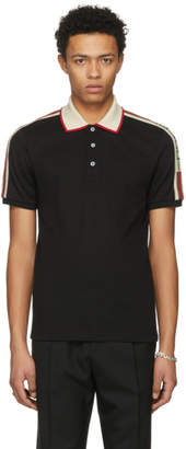 Gucci Black Band Polo