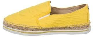 Jimmy Choo Espadrille Slip-On Sneakers