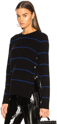 Equipment Jenny Side Button Sweater