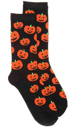 K. Bell Pumpkin Crew Socks - Women's