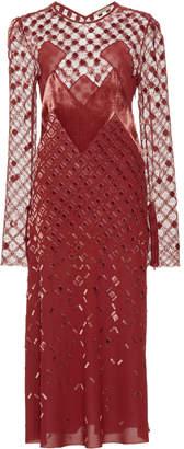 Bottega Veneta Long Sleeve Dress