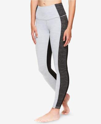 Gaiam X Jessica Biel High-Rise Colorblocked Ankle Leggings