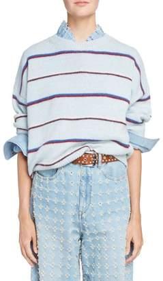 Etoile Isabel Marant Gatlin Stripe Alpaca Blend Sweater