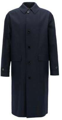 BOSS Hugo Water-Repellent Cotton Coat Garris 38R Yellow