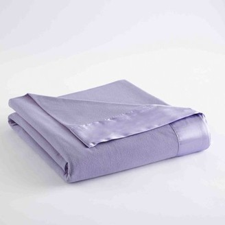 Shavel Home Products All Seasons Sheet Blanket, Full/Queen, Amethyst