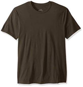 Armani Exchange A|X Men's Pima Cotton Jersey Short Sleeve Tshirt