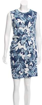Thakoon Printed Asymmetrical Dress