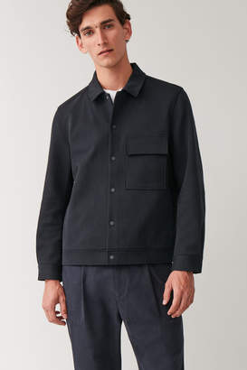 Cos CASUAL SNAP BUTTON JACKET