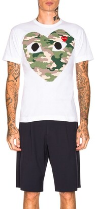 Comme des Garcons Camouflage Tee