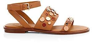 Tory Burch Women's Suki Studded Leather Gladiator Sandals
