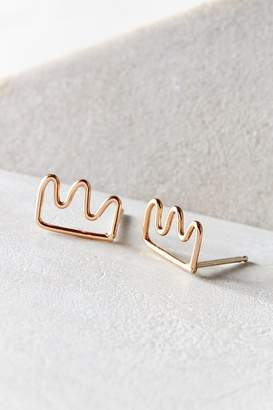 Oxbow Designs Crown Post Earring