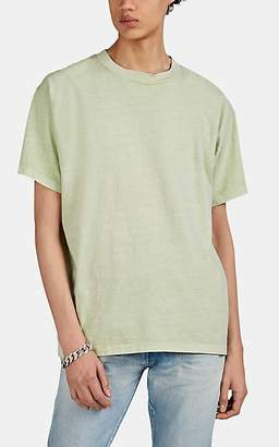 John Elliott Men's Oversized Washed Cotton T-Shirt - Lt. Green