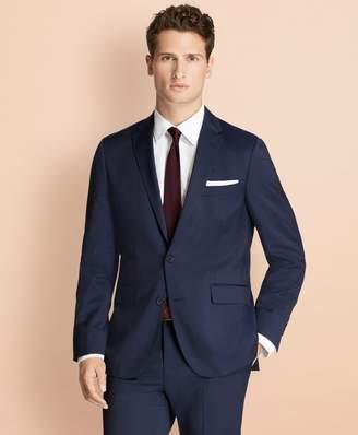 Brooks Brothers Alternating Pinstripe Wool Suit Jacket