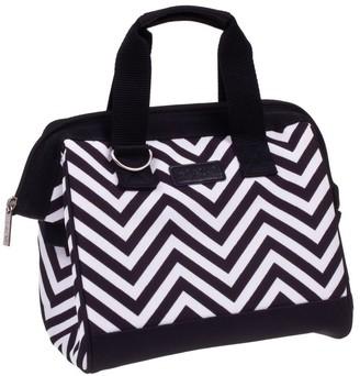 Sachi Insulated Lunch Bag Chevron Stripe