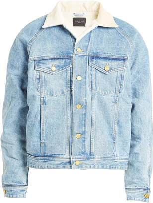 Fear Of God Denim Jacket with Textured Lining