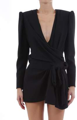 Saint Laurent Black Mini Dress