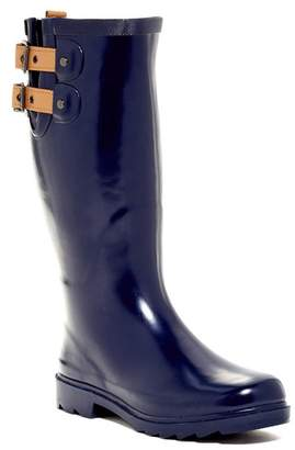 Chooka Top Solid Waterproof Rain Boot (Women)