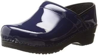 Sanita Women's Professional Patent Clog Work Shoe