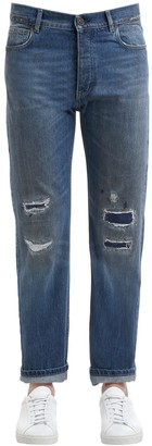 Kent & Curwen 18cm Tonbridge Stone Washed Denim Jeans