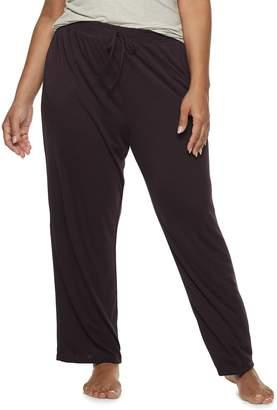Gloria Vanderbilt Plus Size Pajama Pants