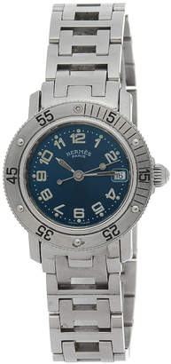 Hermes Clipper Diver Watch 28mm - Vintage