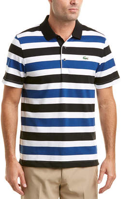 Lacoste Sport Jersey Raye All Over Stripes Polo