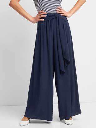 Gap Wide-Leg Pants with Sash Belt