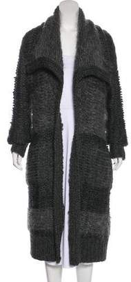 Donna Karan Wool & Mohair-Blend Cardigan w/ Tags