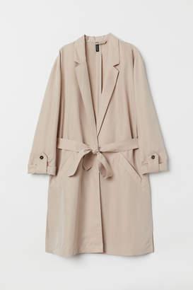 H&M Modal-blend Trenchcoat - Beige