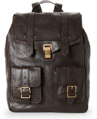 Proenza Schouler Chocolate PS1 Leather Backpack